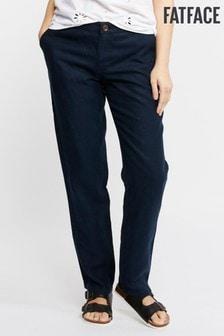 FatFace Baird Mcnutt Linen Trouser