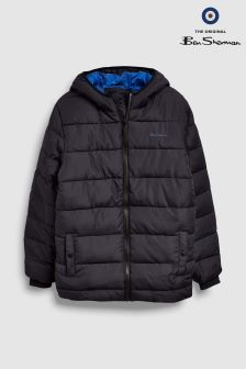 Ben Sherman Black Padded Jacket