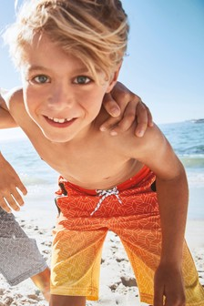 Geo Sporty Swim Shorts (4-16yrs)