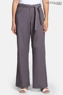 HotSquash Grey Linen Trousers