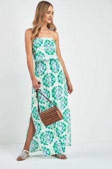 Maxi Bandeau Beach Dress
