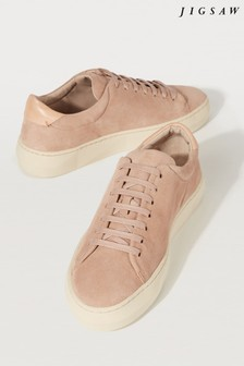 Jigsaw Marisa Contrast Suede Trainer