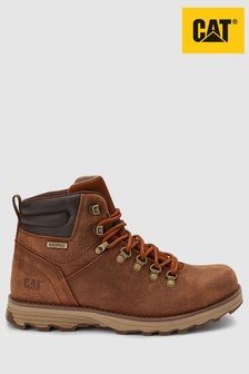 CAT® Brown Sire Lace Up Boot