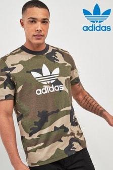 T-shirt à imprimé camouflage adidas Originals
