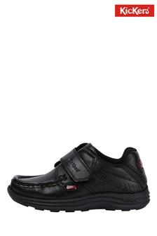 Kickers Infants Reasan Strap Leather Shoes