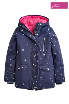 Joules French Navy Star 3 In 1 Waterproof Parka