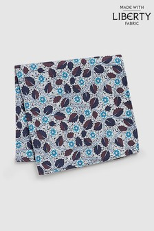 Liberty Fabrics Bramble Blossom Pocket Square