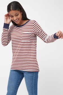 Long Sleeve Slub T-Shirt