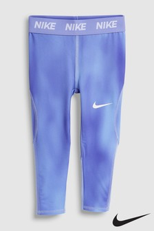 Nike Little Kids Blue Dri-Fit Leggings