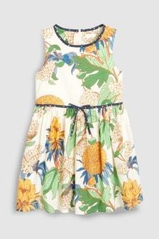 Dahlia Floral Cotton Dress (3-16yrs)