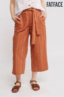 FatFace Exmouth Stripe Crop Trouser