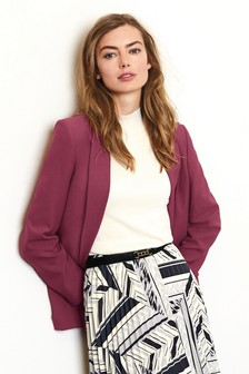 Crepe Relaxed Jacket