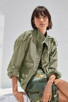 8273919469ef3 Buy Women's coatsandjackets Coatsandjackets Short Short Green Green ...