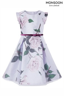 Monsoon Glitter Rose Dress