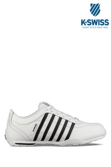 K-Swiss White Arvee Trainer