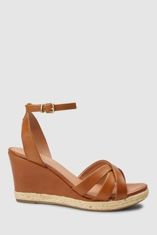 Forever Comfort® Leather Wedges