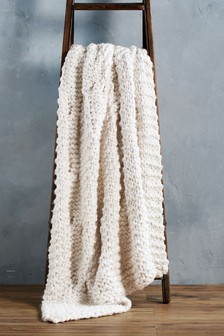 Chunky Hand Knitted Throw