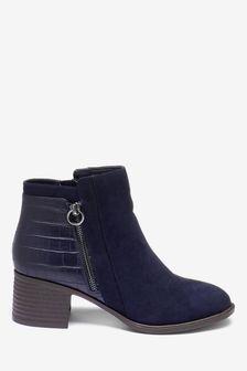 Blue Chelsea Boots | Blue Chelsea Ankle