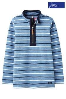 Joules Blue Saltwash Dale Half Zip Sweatshirt