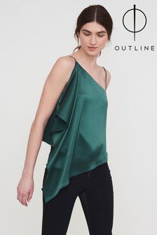 Outline Green Rosary Top