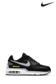 Nike Black/Grey Air Max Wright Youth Trainers