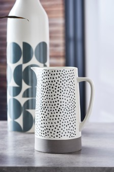 Arlo Spotty Ceramic Jug