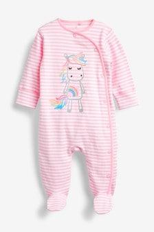 Unicorn Character Sleepsuit (0mths-2yrs)