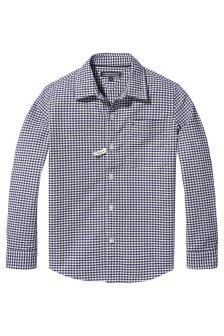 Tommy Hilfiger White Oxford Gingham Shirt
