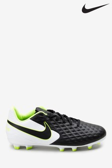Nike Black/White Tiempo Legend 8 Academy MG Football Boots