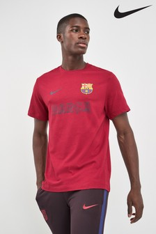Nike Red FC Barcelona Match T-Shirt