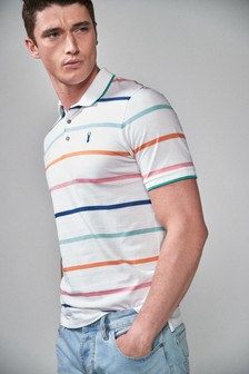 Multi Stripe Polo