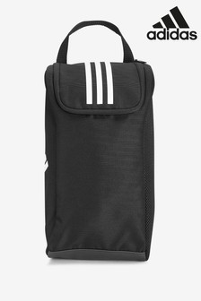 adidas Black 3 Stripe Boot Bag