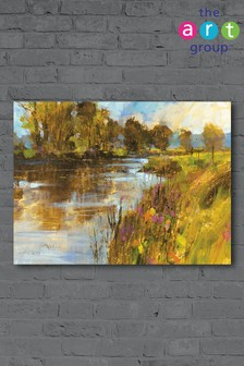 Spring River by Chris Forsey Canvas