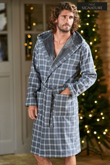 Signature Fleece Bonded Robe