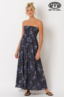 Animal Blue Lulu Woven Maxi Dress