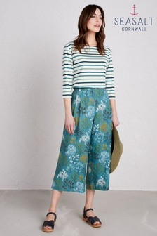 Seasalt Blue Grayling Culotte