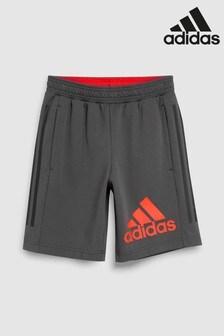 adidas Charcoal Leg Logo Short cde92f10822e3