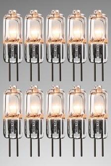 5 Pack 14W Halogen G4 Bulb