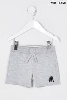 River Island Grey Marl Shorts