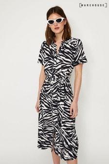 0fa6f535cd5 Buy animalprint Animalprint Animalprint Women Women Shirtdress ...