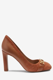 Forever Comfort Buckle Detail Court Shoes