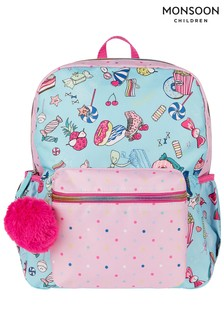 Monsoon Blue Marline Sweetie Backpack
