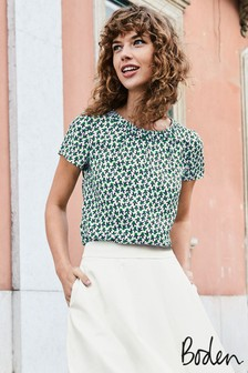 Boden Green Carey Top