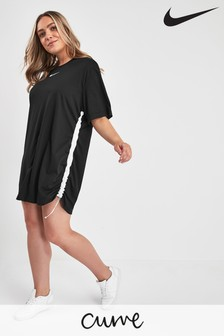 Nike Curve Black Swoosh Dress