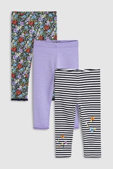Leggings Three Pack (3mths-7yrs)