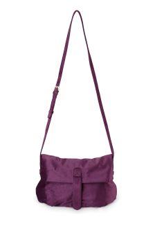 Oliver Bonas Purple Jenni Soft Side Cross Body Bag