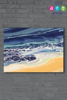 Organic Sea by Nancy Wood Canvas