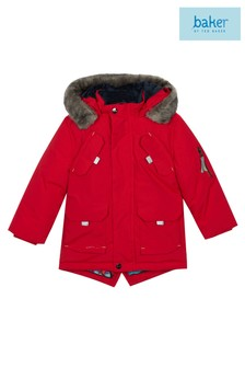 baker by Ted Baker Red Parka