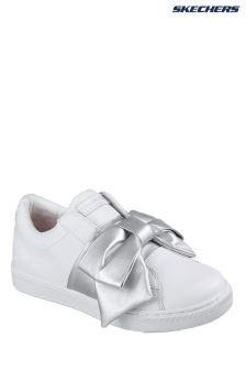 Skechers® White Prima Little Bow