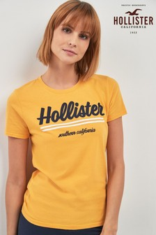 2a0cd2990 Womens Hollister Tops | Graphic Tops | Next Official Site